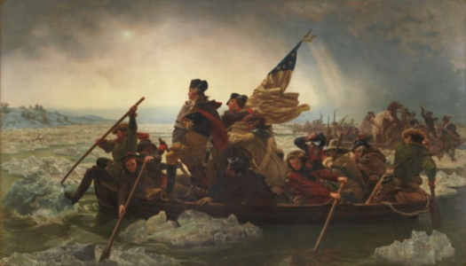 Washington Crossing the Delaware by Emanuel Leutze , 1851 (Metropolitan Museum of Art)